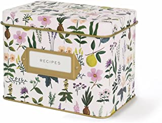 Rifle Paper Co. Recipe Box - Herb Garden