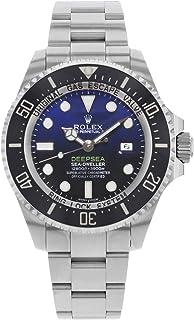 Deepsea Deep Blue Dial Stainless Steel Mens Watch 116660BLSO