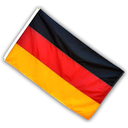 Amazon Com Us Flag Factory 3x5 Ft Germany German Flag Sewn Stripes Header Grommets Outdoor Solarmax Nylon 100 Made In America Premium Quality Garden Outdoor