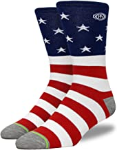 product image for Mitscoots Mens Crew American Flag Socks - The Independence