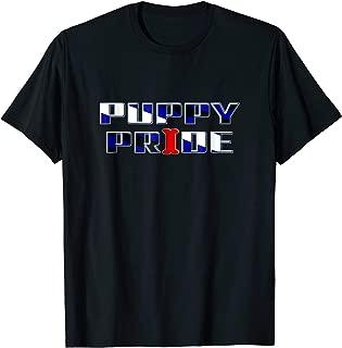 Gay Puppy Pride Shirt | BDSM Gear Pup Play Fetish Tshirt