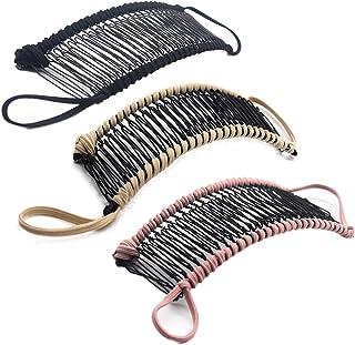 2pcs Vintage Französisch Haarspange Fisch Clip Bananen Haarspange Kamm