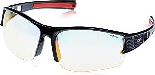Julbo - Eole Zebra Light - Gafas de sol fotocromáticas para hombre, color negro y rojo