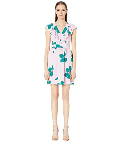 Kate Spade New York Grand Floral A-Line Dress (Mirage Pink) Women