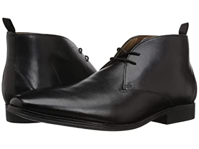 Clarks Gilman Mid (Black Leather) Men