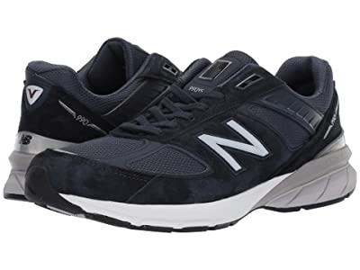 New Balance 990v5 (Navy/Silver) Men
