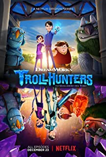 Kirbis Trollhunters Movie Poster 18 x 28 Inches