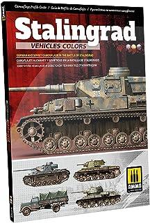 アモ スターリングラード参戦車両のカラー スターリングラード攻防戦のドイツ軍とロシア軍の迷彩 写真集・書籍 AMO-6146