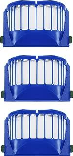 3 Pack Hepa Filter Vacuum Cleaner Kit For iRobot Roomba 500, 600 Series (550 560 650 620)