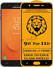 Xester Screen Protector for Samsung Galaxy J7 Prime,Tempered Glass Edge to Edge Full Screen Coverage with Easy installaition kit -[1 Pack]
