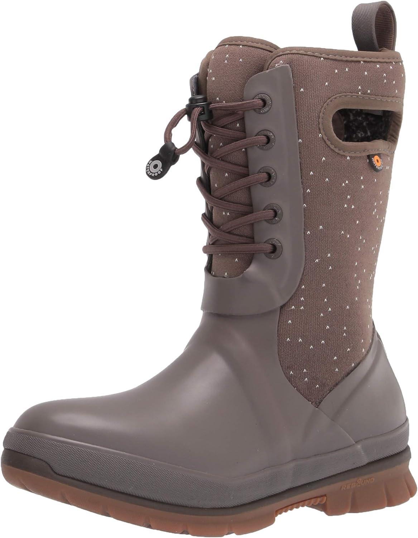 BOGS Women's Crandal Lace Snow Boot