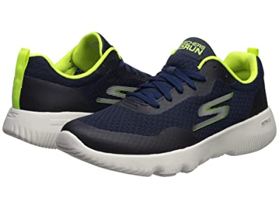 SKECHERS Go Run Focus (Navy/Lime) Men