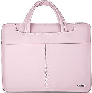 ZWOOS 15,6 Pollici Borsa Porta PC Custodia per Laptop Portatile, Custodia per Laptop Tracolla per Lavoro Adattato a MacBoo...
