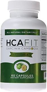 HCAFit Garcinia Cambogia All Natural Dietary Pill, 60 Count