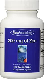Allergy Research Group Zen - 200 mg - 60 Vegetarian Capsules