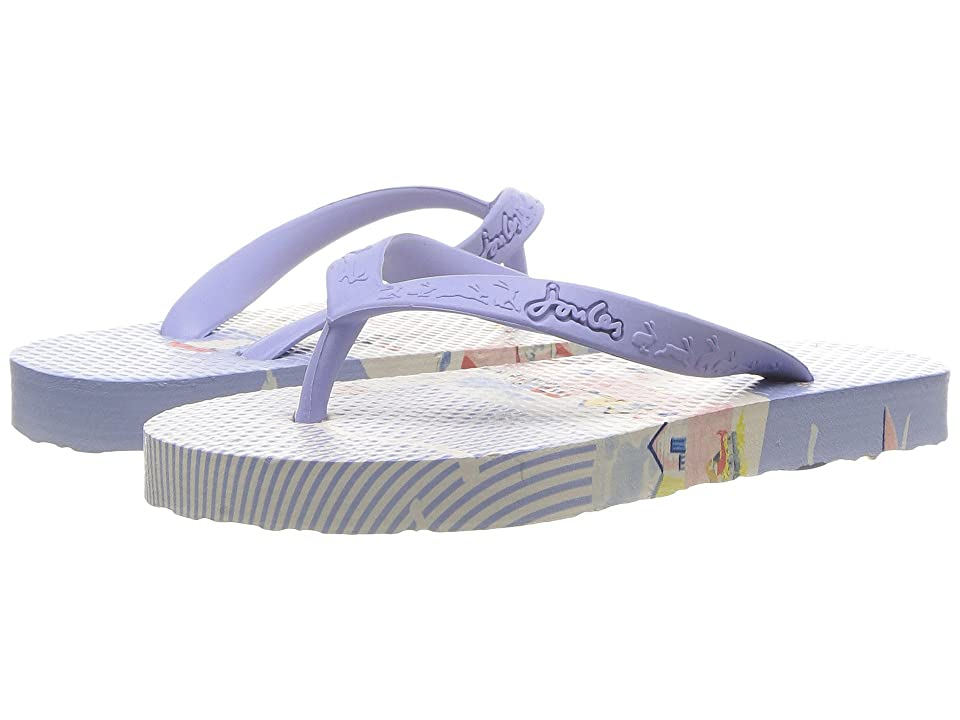 Joules Kids Flip-Flop (Toddler/Little Kid/Big Kid) (Seaside) Girls Shoes