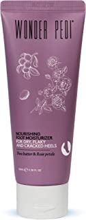 Sponsored Ad - Nourishing Foot Cream with Shea Butter, Urea and Rose Petals – Heel Cream Moisturizer for Cracked, Flaky Sk...