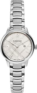 Swiss Rare Silver Date Dial 32mm Women Stainless Steel...