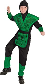Forum Novelties Green Ninja Costume, Child Small