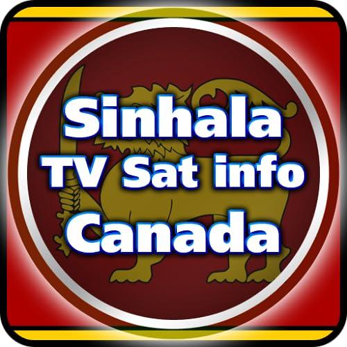 Datos de TV vía satélite cingalés Canadá