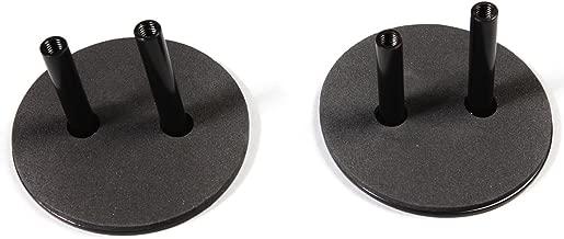 Rugged Ridge 11025.05 Black Mirror Relocation Filler Plate - Pair