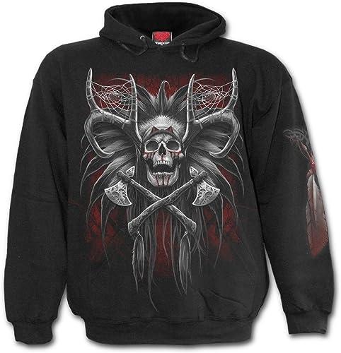 Spiral Sweat-Shirt avec Capuche pour Hommes - Tribal Dreams D062M451 XXL