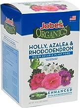 Jobe's Organics (08281) Holly, Azalea & Rhododendron Fertilizer for Acid Loving Plants 6-1-1 Water Soluble Plant Food Mix with Biozome, 10 oz Box Makes 30 Gallons of Organic Liquid Fertilizer