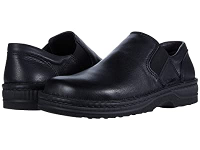 Naot Eiger (Soft Black Leather) Men