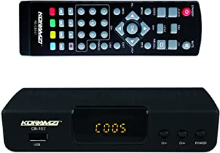 KORAMZI HDTV Digital TV Converter Box ATSC with USB Input for Recording and Media Player CB-107