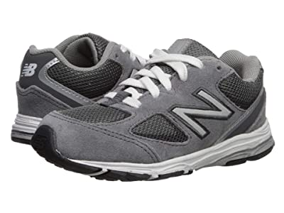 New Balance Kids IK888v2 (Infant/Toddler) (Dark Grey/Grey) Boys Shoes