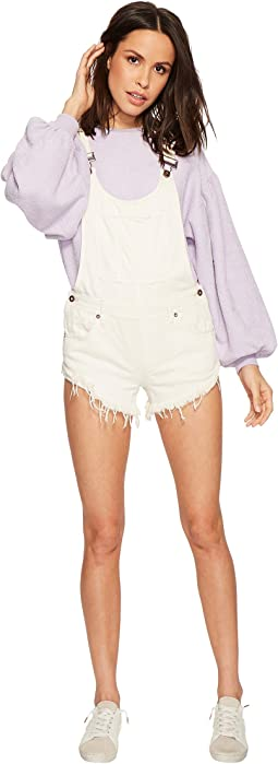 Free People Summer Babe Hi/Lo Overall