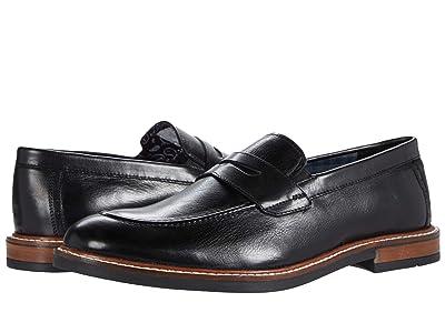 Ben Sherman Birk Penny Loafer (Black Leather) Men