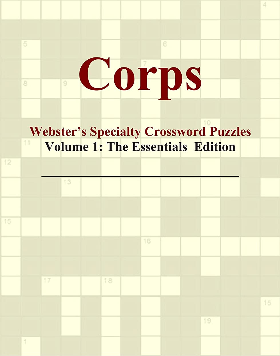 地味な脚本月面Corps - Webster's Specialty Crossword Puzzles, Volume 1: The Essentials Edition
