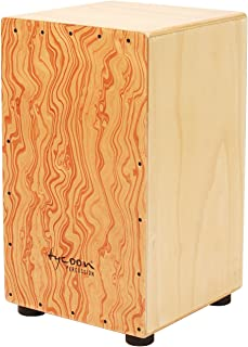 Tycoon Percussion 29 Series Siam Oak Cajon With Hand Painted Plywood Front Panel