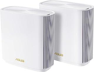 ASUS Whole-Home Tri-Band Mesh Wi-Fi System, White, Zenwifi XT8