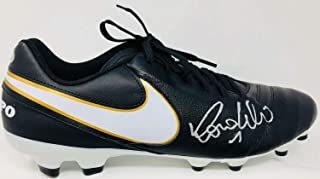 Ronaldo Autographed Signed Memorabilia Nike Tiempo Soccer Cleat Brazil Madrid Right - Beckett Authentic