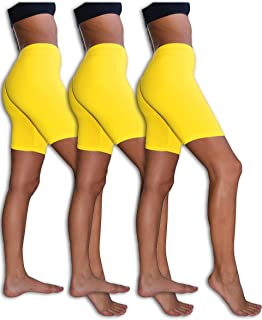Best yellow spandex shorts Reviews