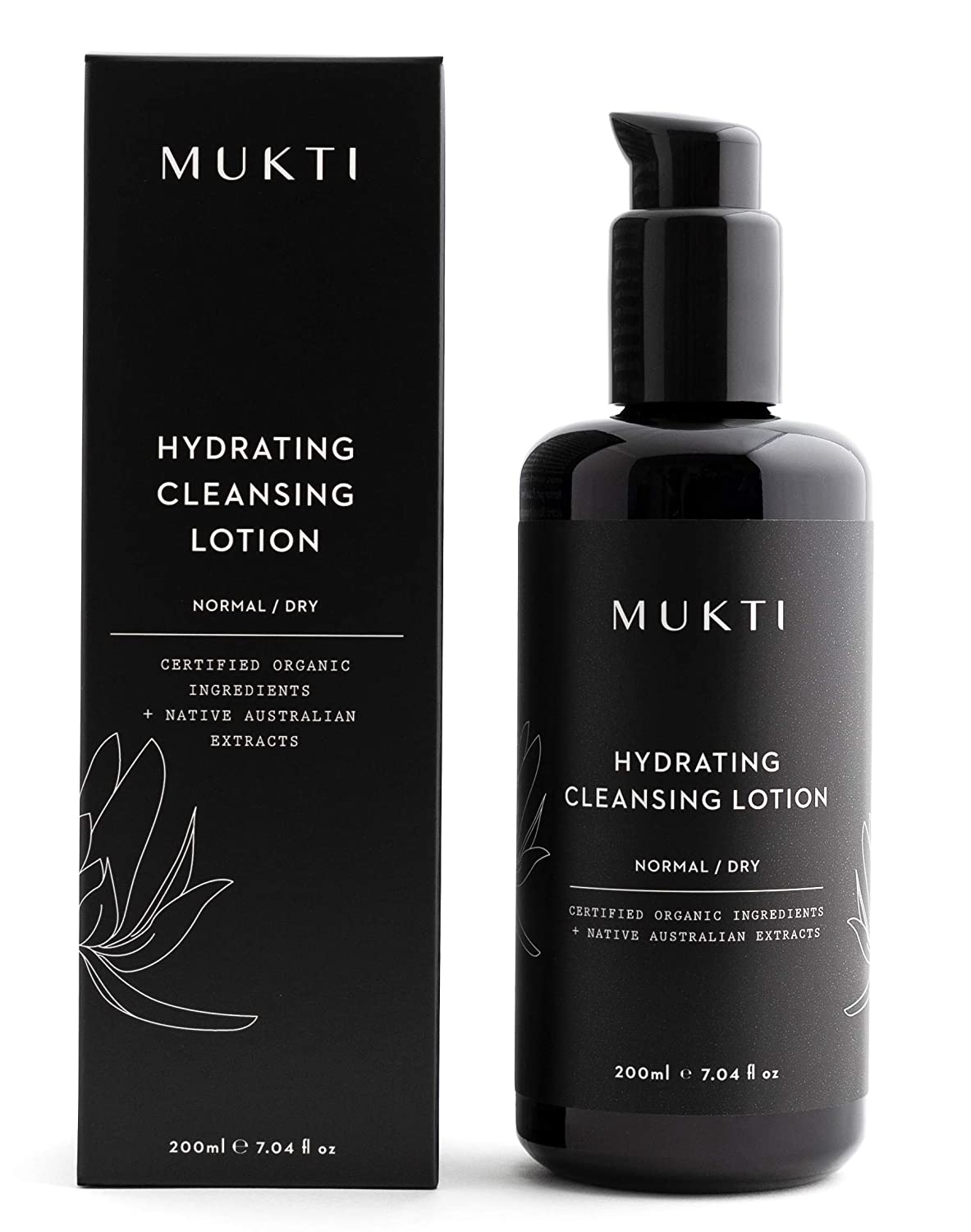 MUKTI - Organic Hydrating Cleansing unisex N Non-Toxic Clean Lotion Some reservation