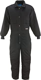 Men's ComfortGuard Water-Resistant Insulated Coveralls with Cotton Denim Outershell
