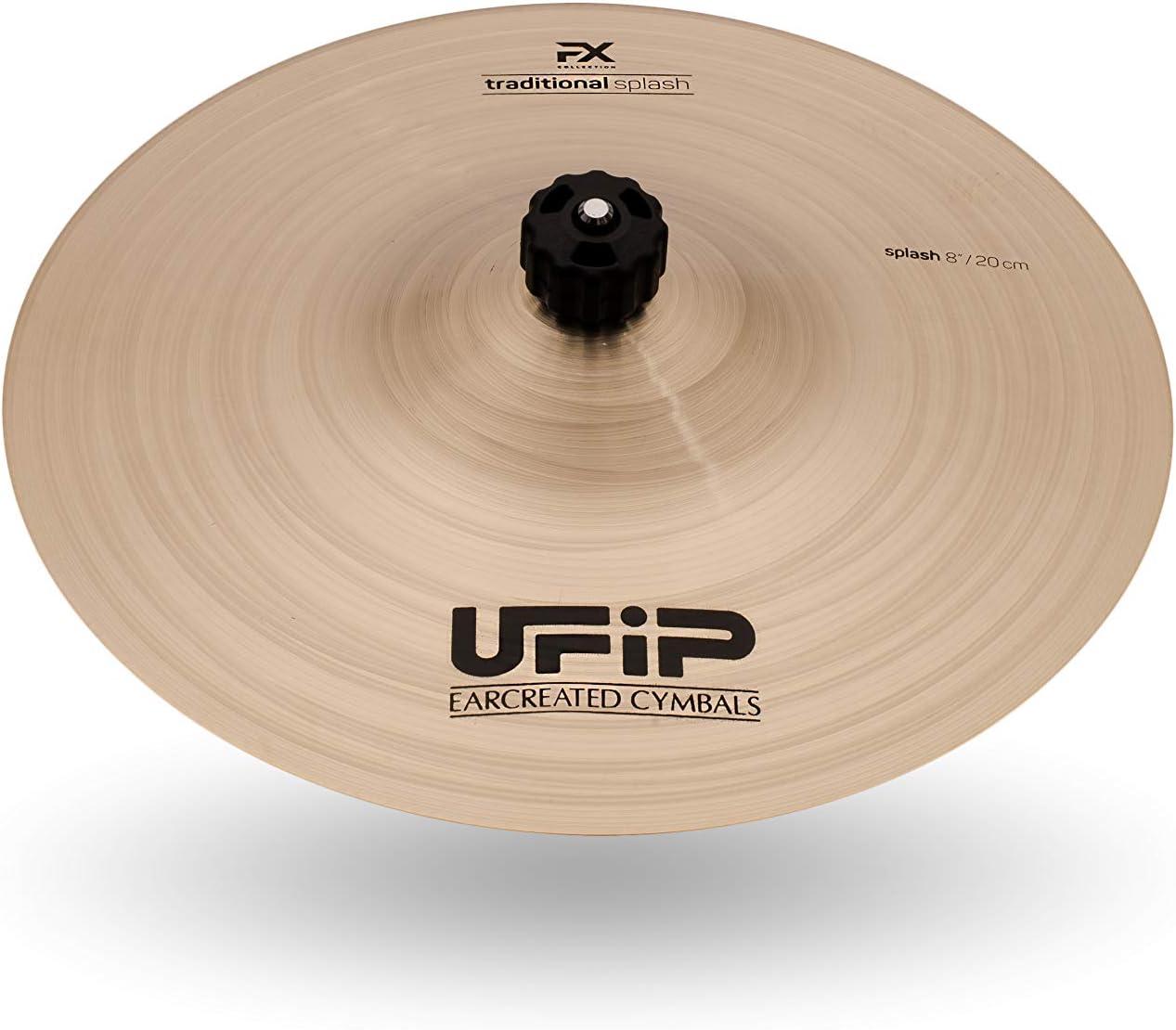 Ufip Effects Collection Splash Cymbal 訳ありセール 格安 在庫一掃売り切りセール FX-08TSL 8 Inch
