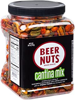 BEER NUTS Cantina Mix | 26 oz. Jar - Sweet and Salty
