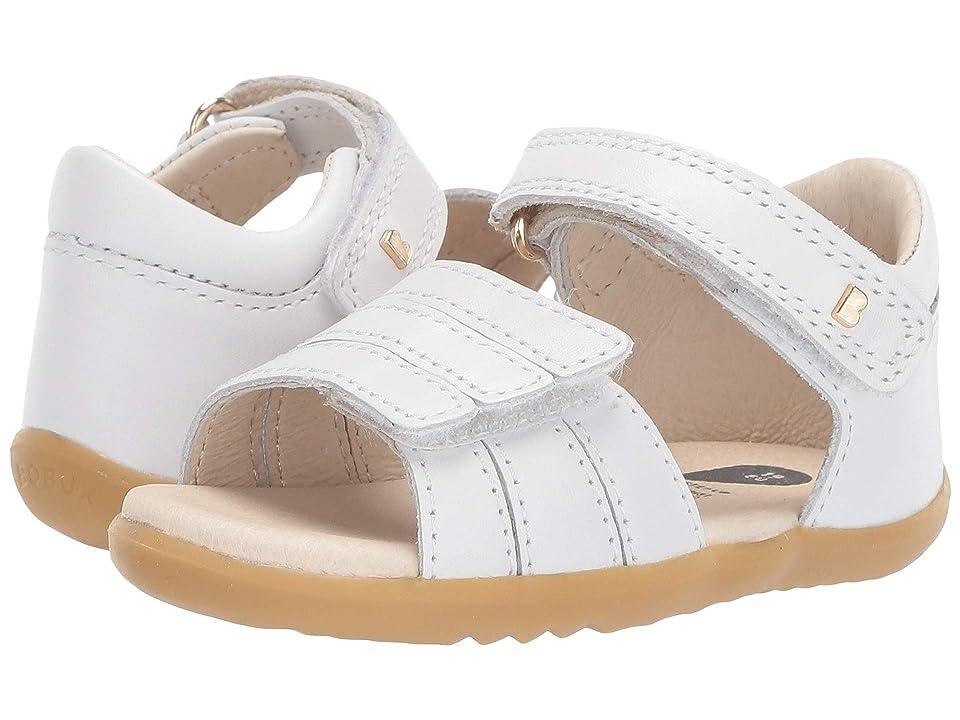 Bobux Kids Step Up Hampton (Infant/Toddler) (White) Girls Shoes
