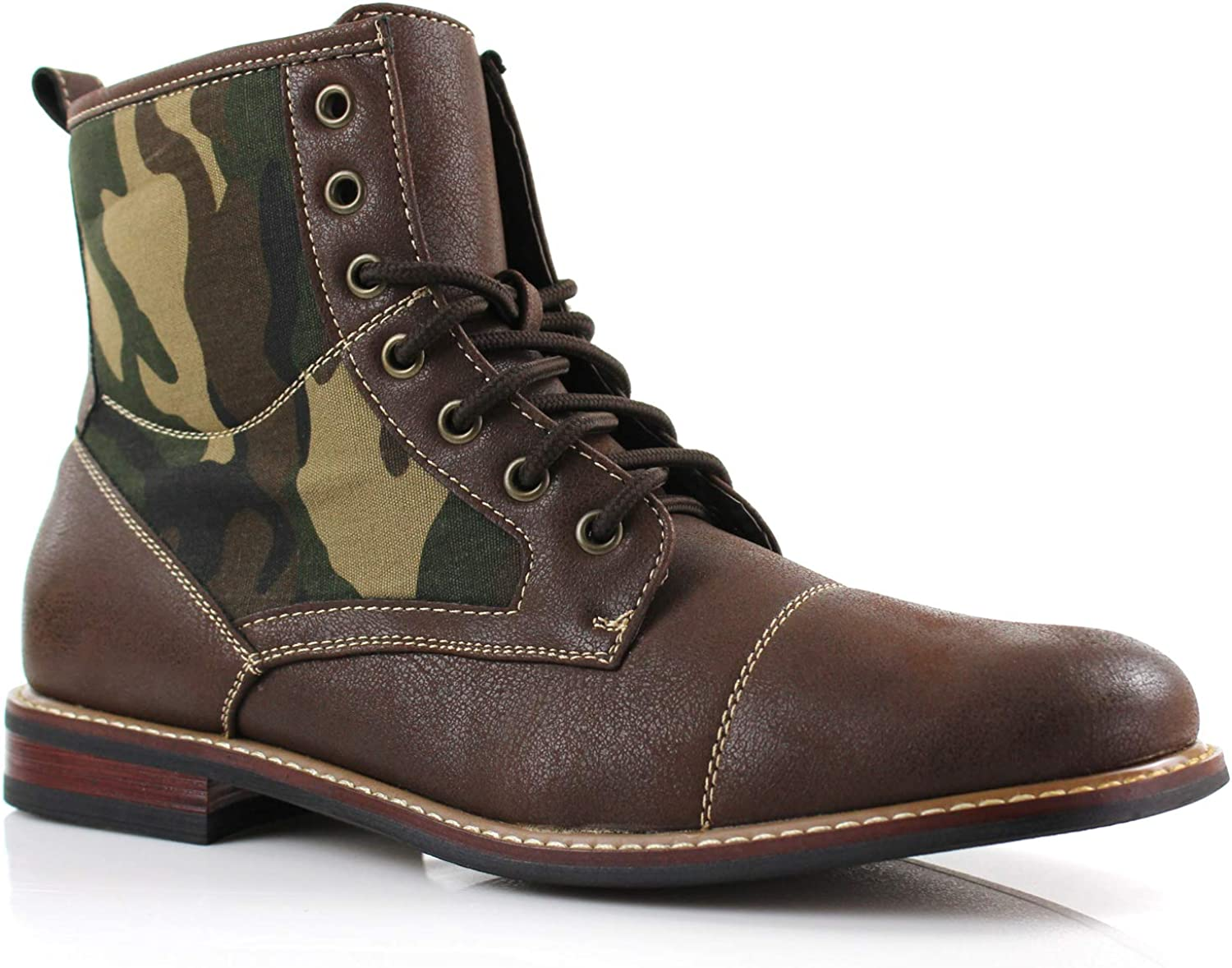 Ferro Aldo Rufus MFA806032 Mens Casual Cap Suede Special price for Long-awaited a limited time Toe Boot Motorc