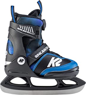 K2 Pojkar Rink Raven Ice Boa Skates