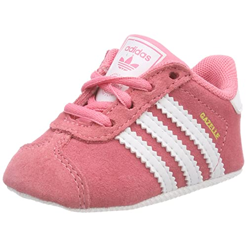 523dbe65d9 adidas Unisex Baby Gazelle Crib Hausschuhe, Rosa, XX