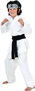 Child Karate Chop Daniel San Black Belt Costume