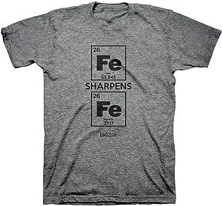 Kerusso Men`s Iron Sharpens Iron T-Shirt - Sport Grey -