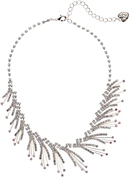 Crystal Spray Frontal Necklace