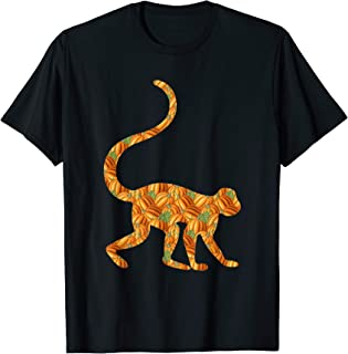 Monkey Easy Halloween Costume Primate Baboon DIY Outfit Gift T-Shirt