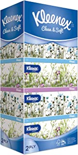 Kleenex Ultra Soft Facial Tissue 2 PLY, Garden, 150ct (Pack of 5)